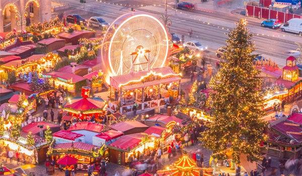 Cestování za vánočním kouzlem