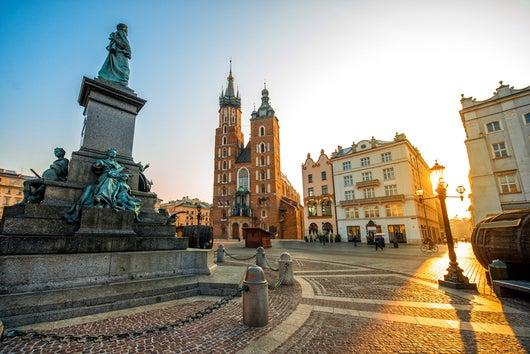 A może do Krakowa?