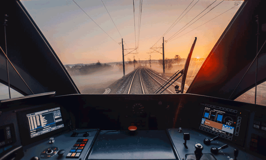 By train up to Krakow