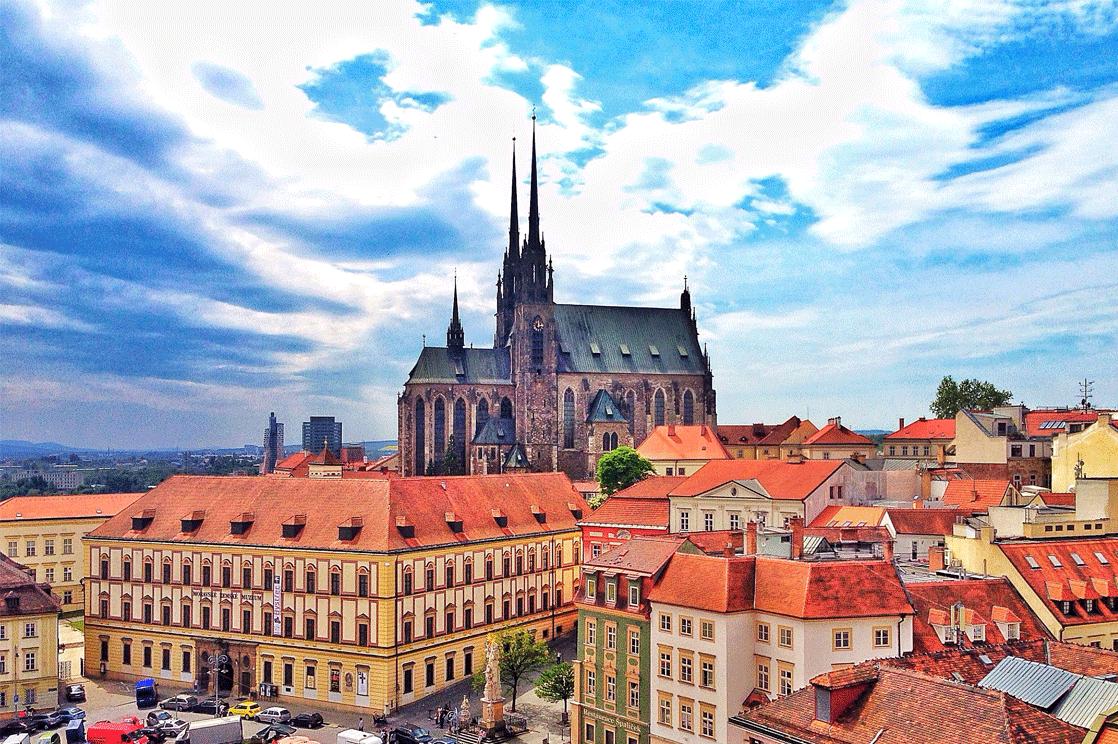 In Brno, center of South Moravia,