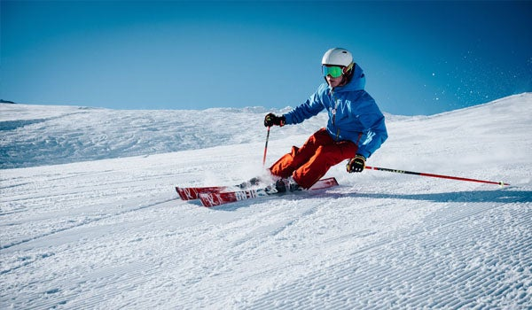 Skiing not just in the Alps