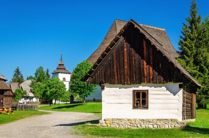 Typické stavby v Liptovském Mikuláši